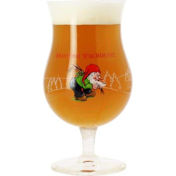 D'Achouffe drinking glass