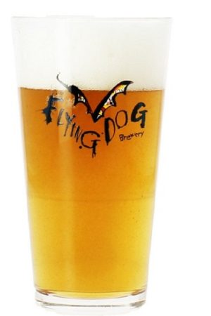 Flying Dog Brewery Glass