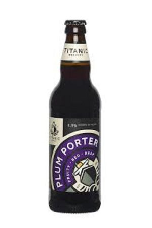 Titanic Plum Porter (pack of 8)
