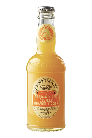 Fentimans Mandarin and Seville Orange Jigger (pack of 12)