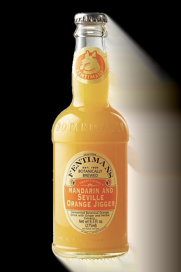 Fentimans Mandarin and Seville Orange Jigger (pack of 12)
