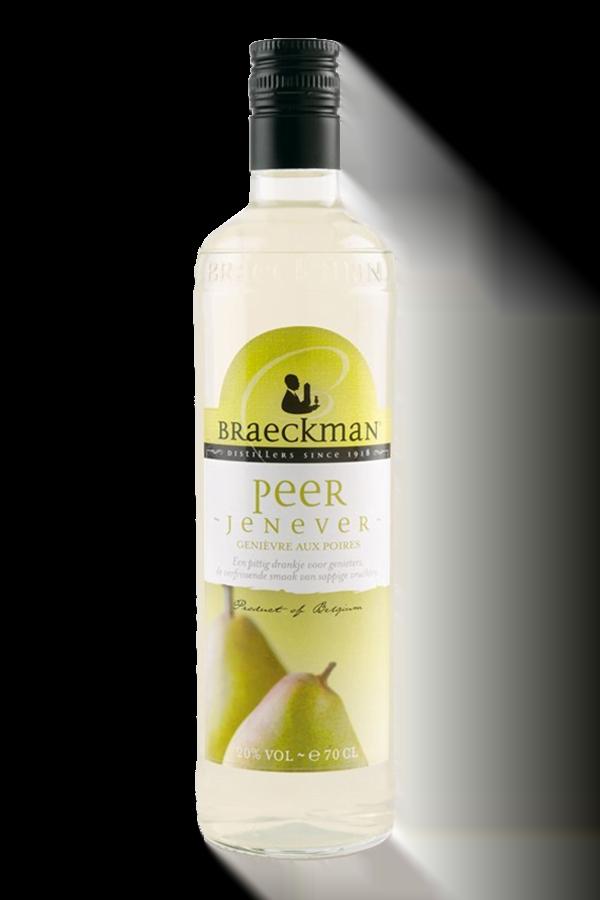 Braeckman Pear Jenever Gin