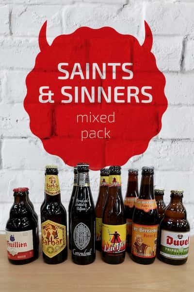 Saints & Sinners Belgian Beer Mixed Pack