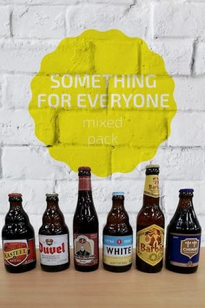 Something for Everyone Belgian Beer Mixed Pack