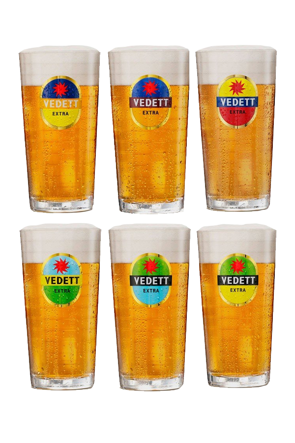 Vedett Extra Pint Glass