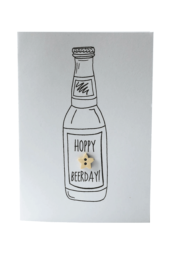 Hoppy Beerday Birthday Card