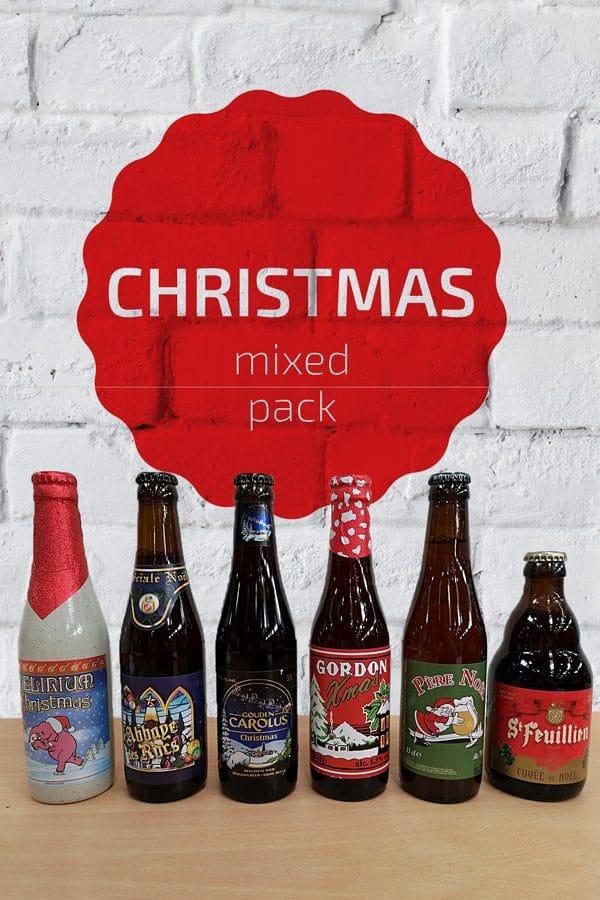 Christmas Belgian Beer Mixed Pack