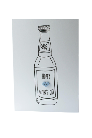 """Hoppy Father's Day"" Handmade Greeting Card"