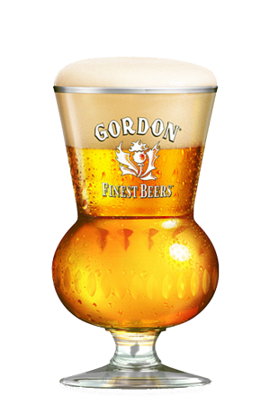 Gordon Finest Beers Glass