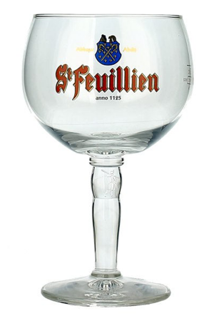 St Feuillien Half Pint Glass