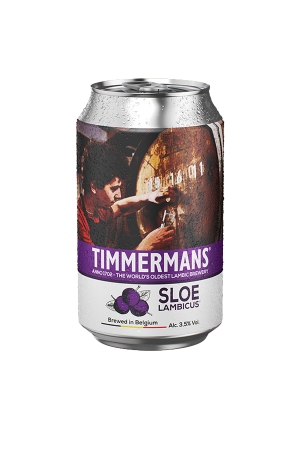 Timmermans Sloe Lambicus Cans (pack of 12)