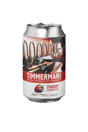 Timmermans Strawberry Lambicus Cans (pack of 12)