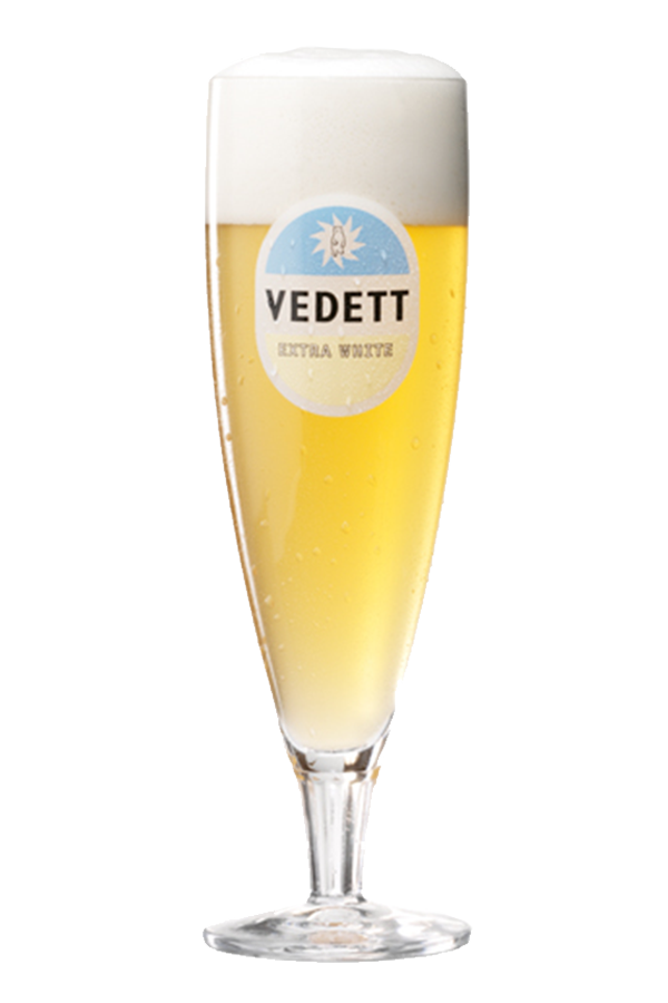 Vedett Extra White Glass