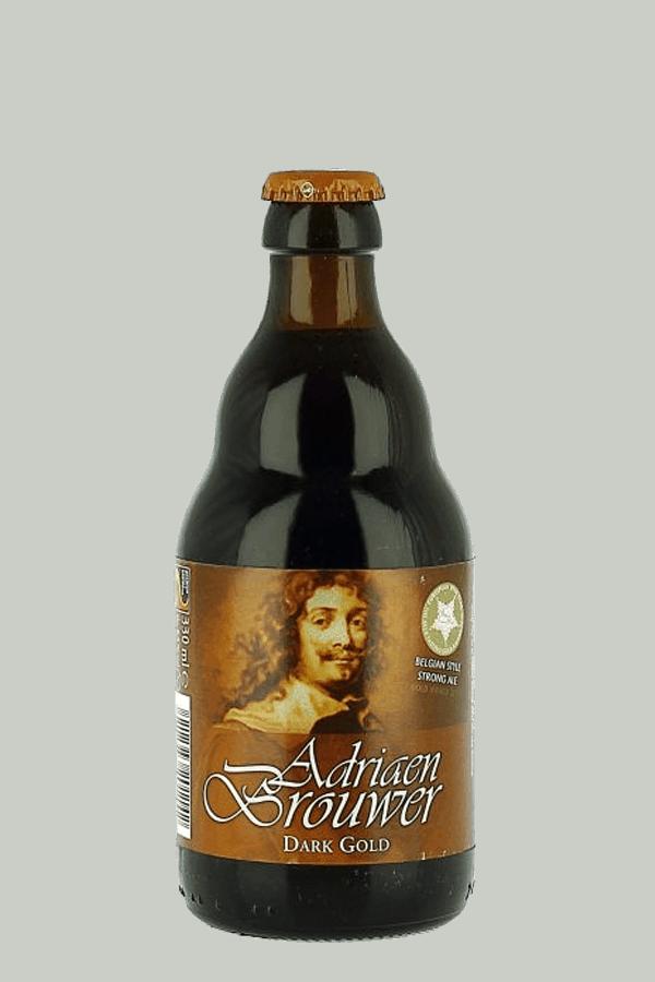 Adriaen Brouwer Dark Gold Bottle