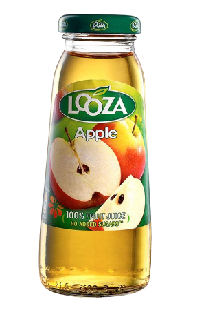 Looza Apple Fruit Juice (pack of 24)