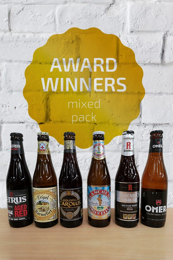Award Winners Belgian Beer Mixed Pack