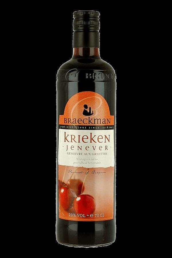 Braeckman Kriek Jenever Gin - Cherry