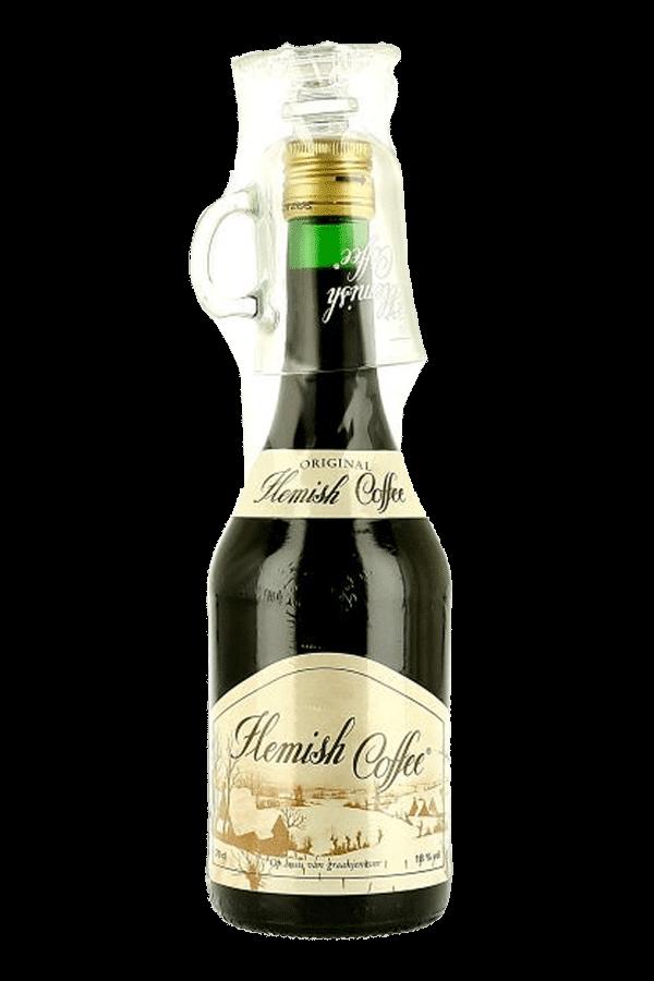 Braeckman Flemish Coffee Jenever Gin with Glass