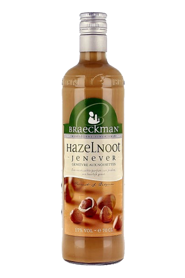 Braeckman Hazelnut Jenever Gin