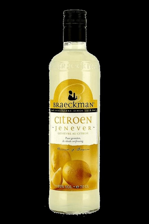 Braeckman Lemon Jenever Gin