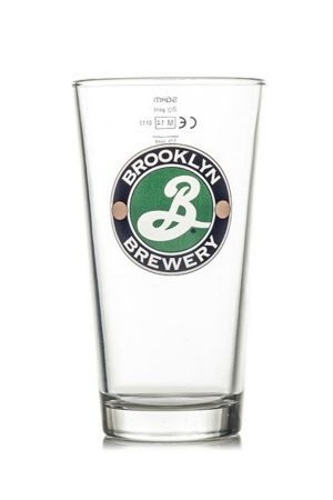 Brooklyn Brewery Half Pint Glass
