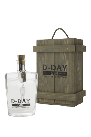 D-Day Gin in Wooden Presentation Box