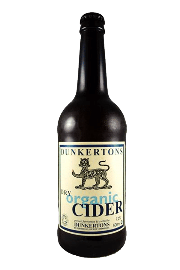 Dunkertons Organic Dry Cider (pack of 12)