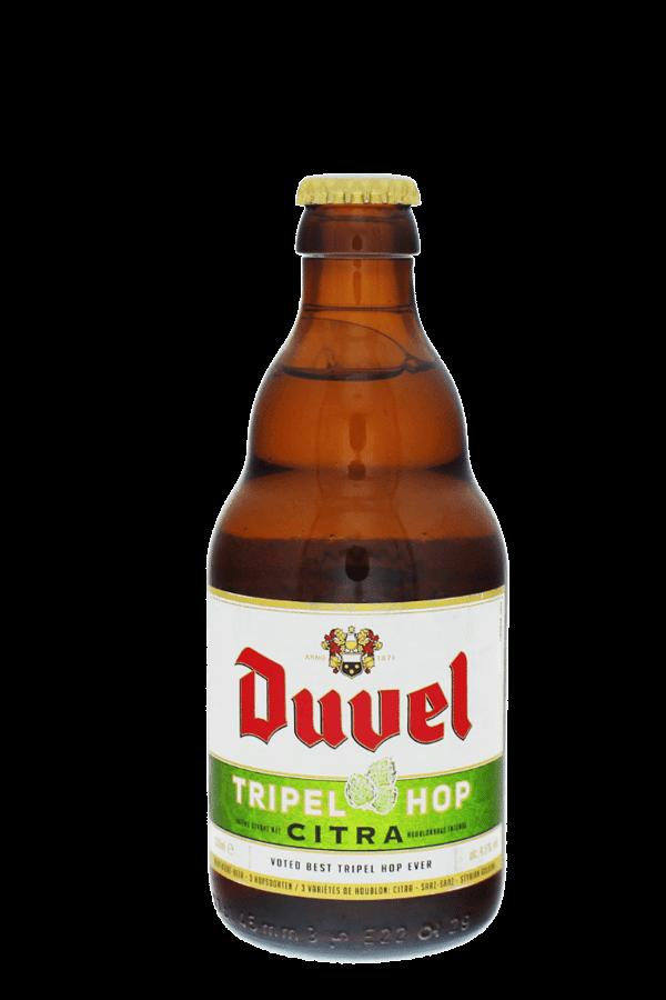 duvel tripel hop bottle