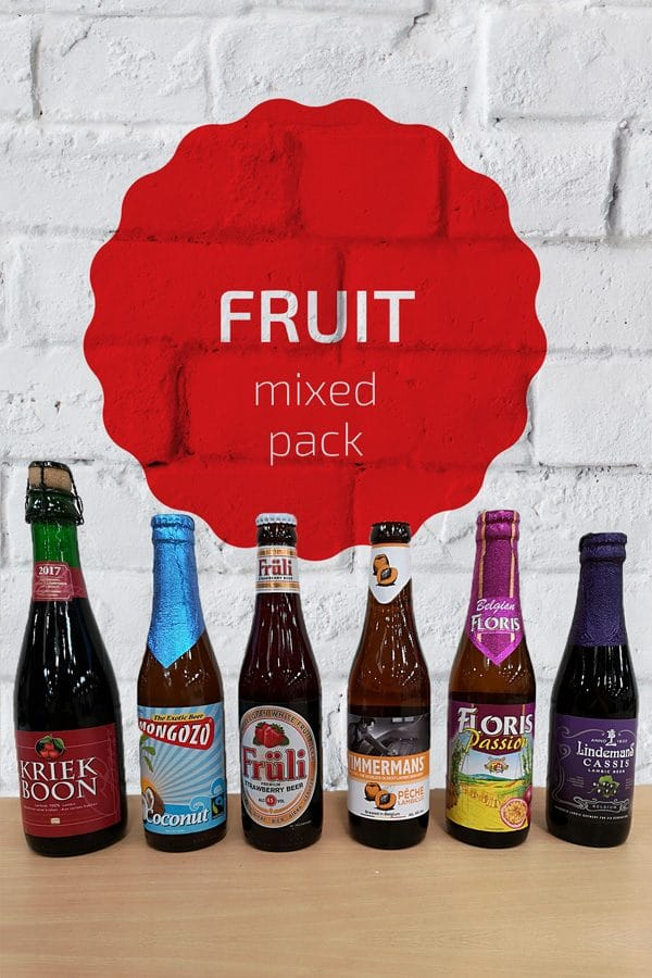 Fruit Belgian Beer Mixed Pack