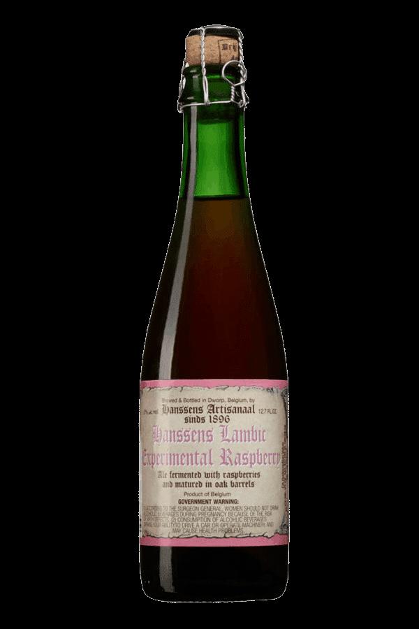 Hanssens Experimental Raspberry Lambic Bottle