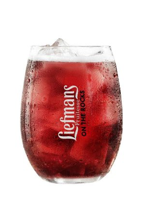 Liefmans Fruitesse on the Rocks Glass