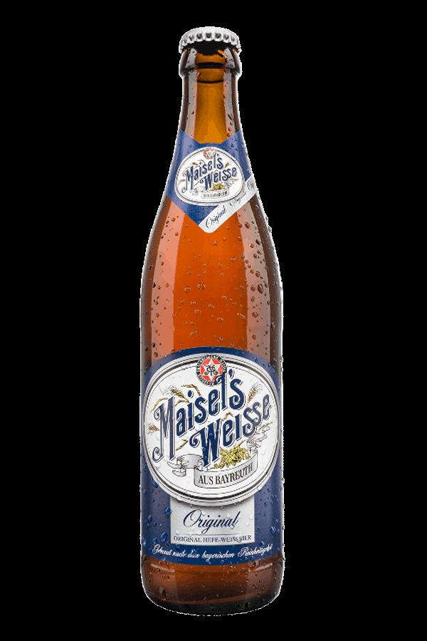 bottle of maisels weissebier