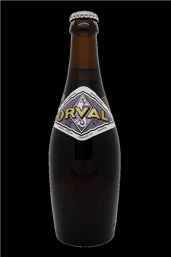 orval beer bottle
