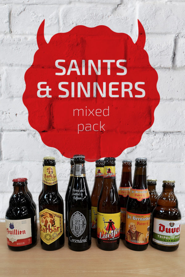 Saints & Sinners Belgian Beer Mixed Pack