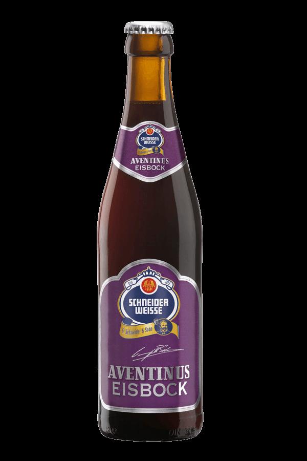 bottle of schneider aventinus eisbock beer