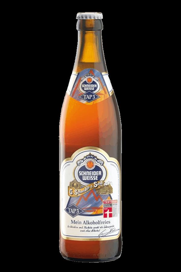 Schneider alcohol free beer