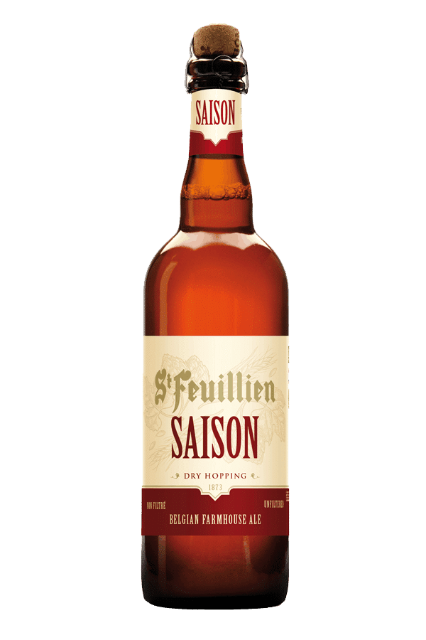 St Feuillien Saison Bottle