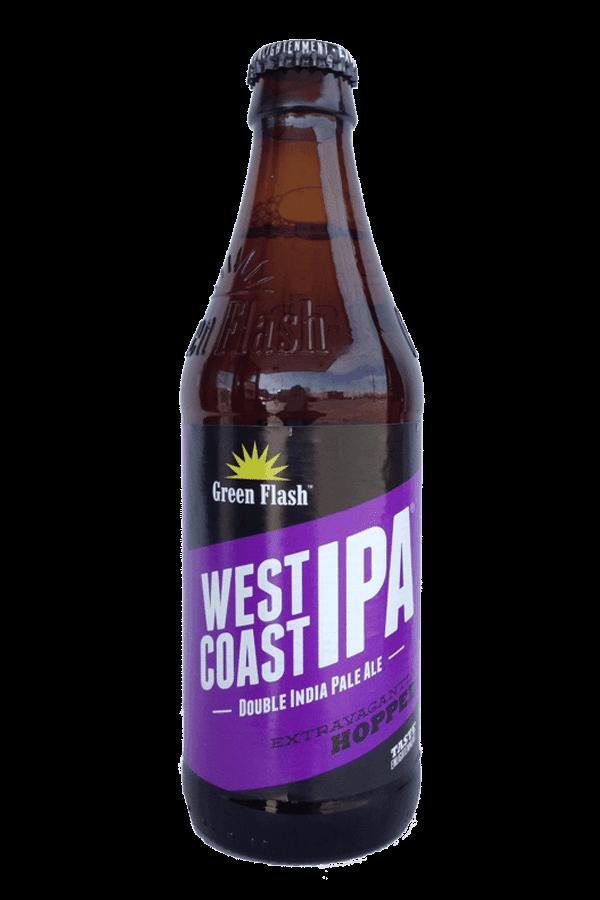 green flash west coast IPA bottle