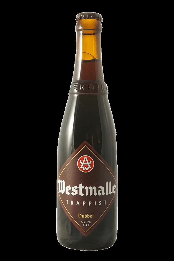 bottle of westmalle dubbel