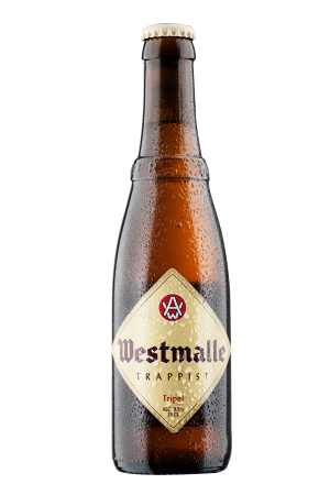 bottle of westmalle tripel
