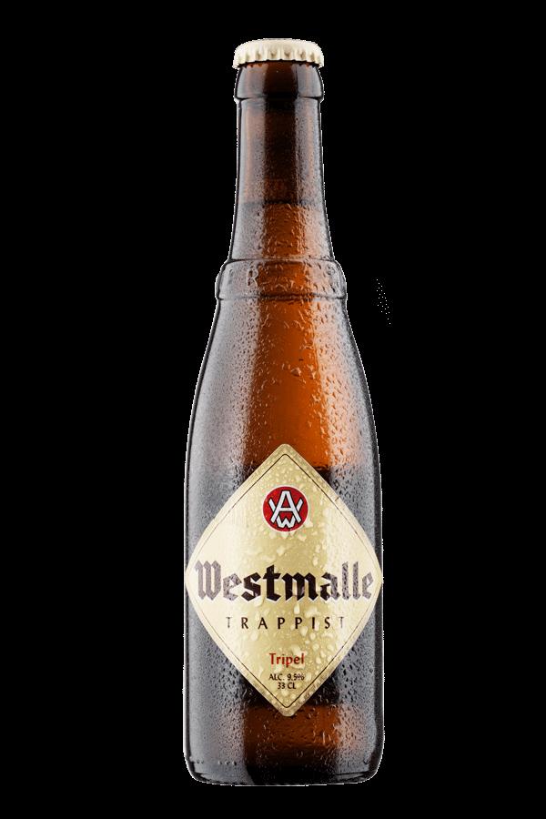 bottle of westmalle tripel