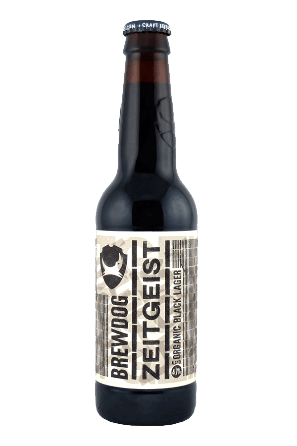 brewdog zeitgeist beer bottle