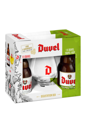 Duvel / Duvel Tripel Hop Gift Pack (2 bottles)
