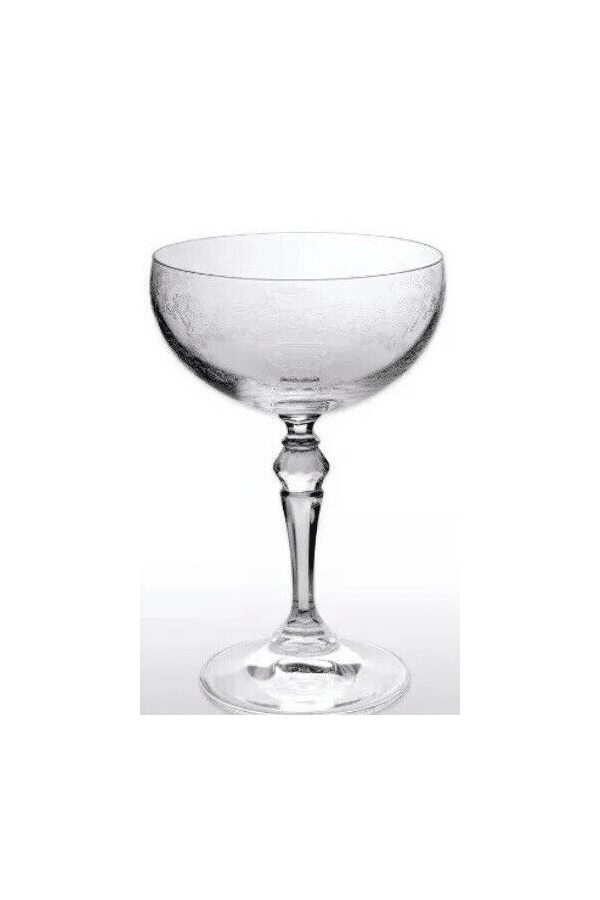 Hendrick's Gin Cocktail Glass