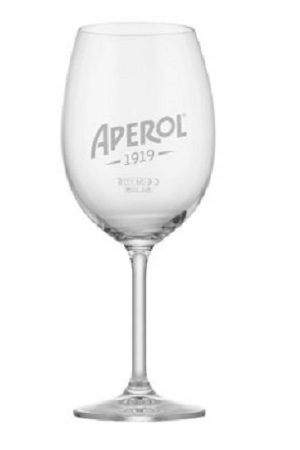 Aperol Spritz Cocktail Glass