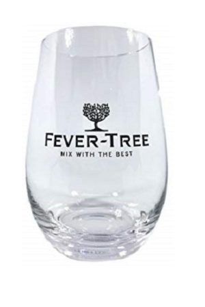 2 Fever Tree Glasses