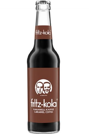 Fritz-Kola Caramel Coffee (pack of 6)