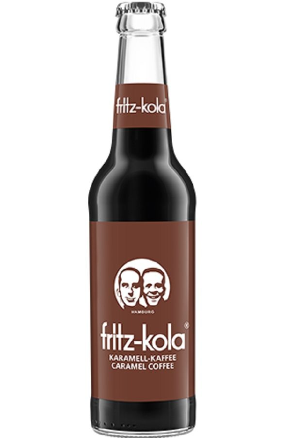 Fritz-Kola Caramel Coffee (pack of 6)
