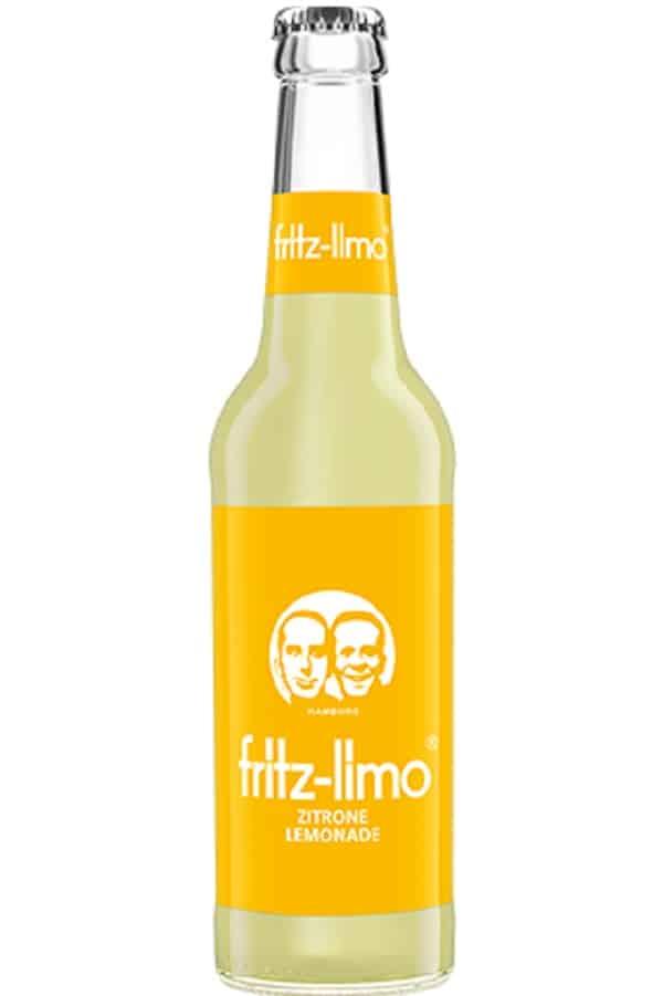 Fritz Limo Lemonade Glass Bottle