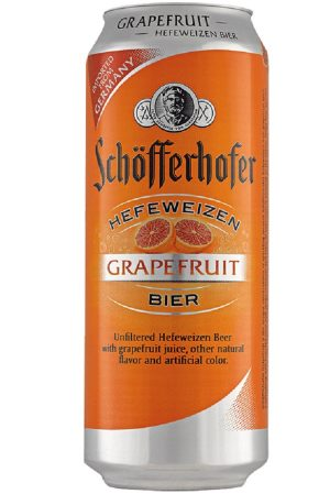 Schofferhofer Hefeweizen Grapefruit Cans (pack of 24)